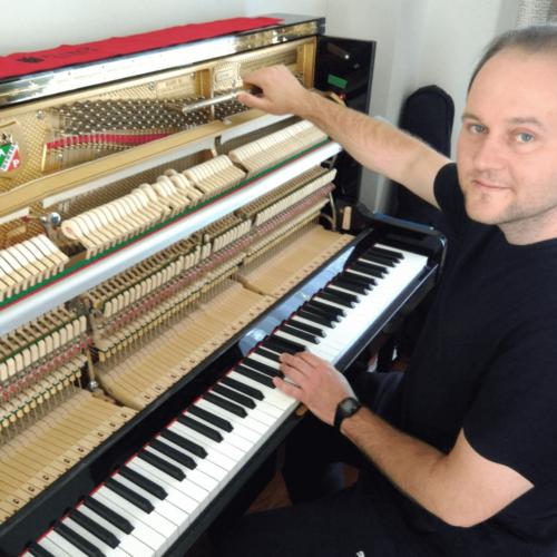 headshot of Ivan, piano tuner
