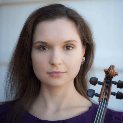 headshot of olga, violin and viola teacher